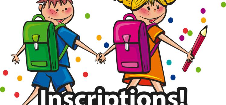 Inscriptions scolaires rentrée 2021/2022